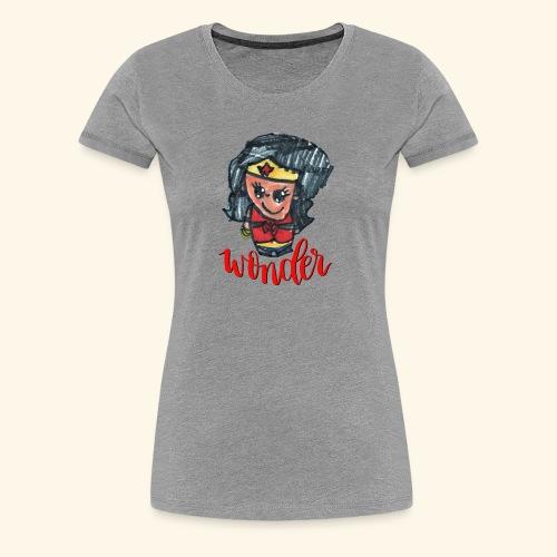 Wonder Hair - Women's Premium T-Shirt