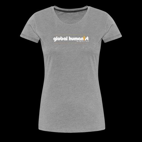 Global Humanist Long Form Logo - Women's Premium T-Shirt