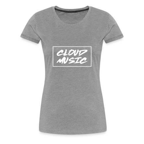 CM White Logo - Women's Premium T-Shirt