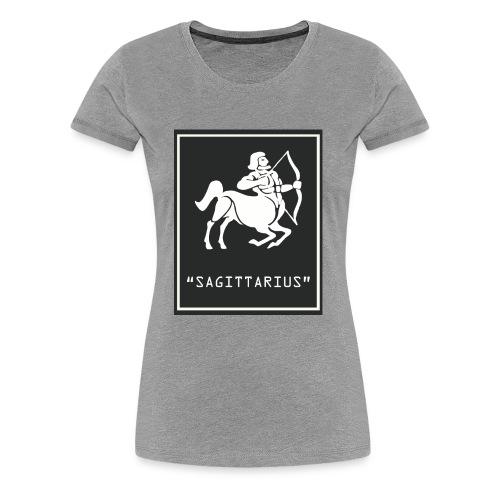 Sagittarius Zodiac Symbol - Women's Premium T-Shirt