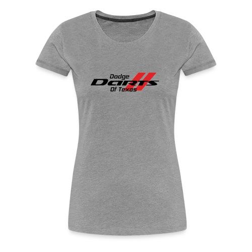 Dodge Darts of Texas Logo - Women's Premium T-Shirt