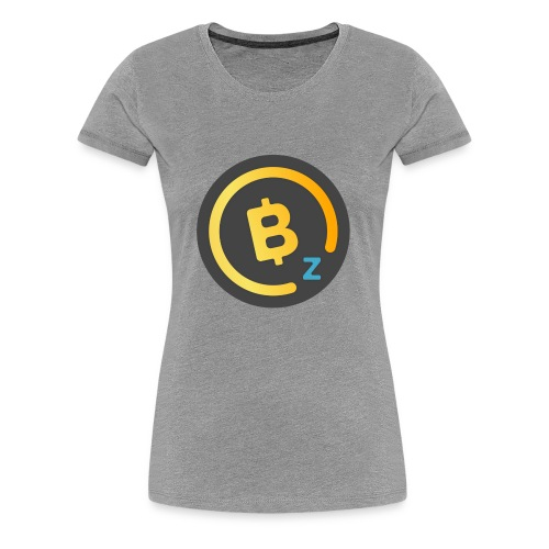 BitcoinZ Logo - Women's Premium T-Shirt
