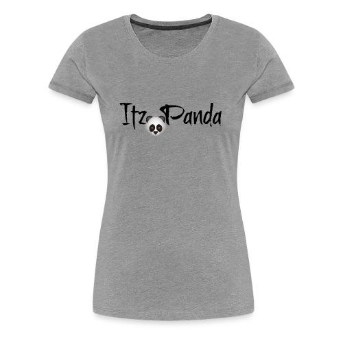 Its panda two - Women's Premium T-Shirt