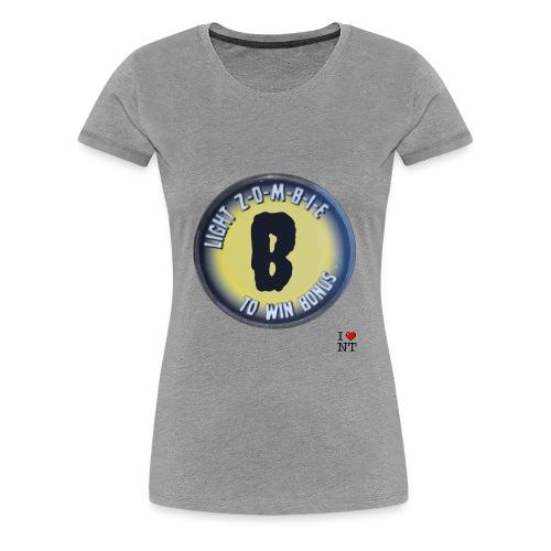 Zombie B - Women's Premium T-Shirt