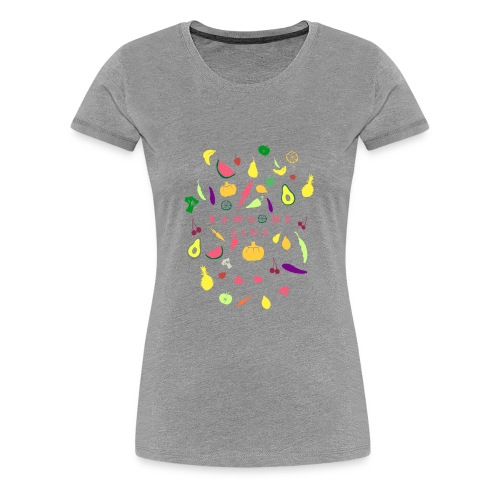Awesome fruit life - Women's Premium T-Shirt