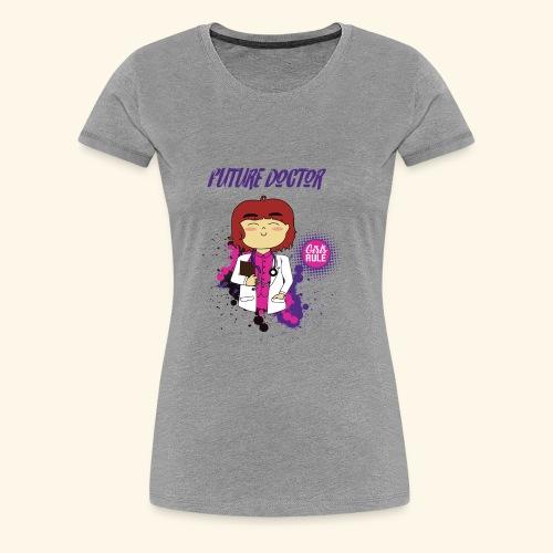 Future girl doctor - Women's Premium T-Shirt