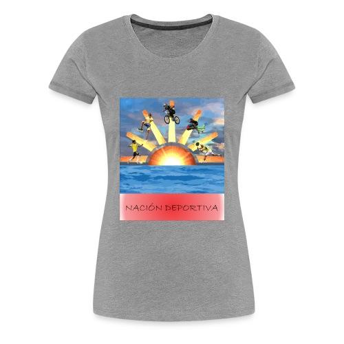NACION DEPORTIVA - Women's Premium T-Shirt