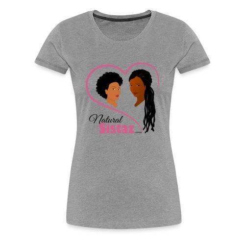 NaturalSistaz.com Logo Gear - Women's Premium T-Shirt
