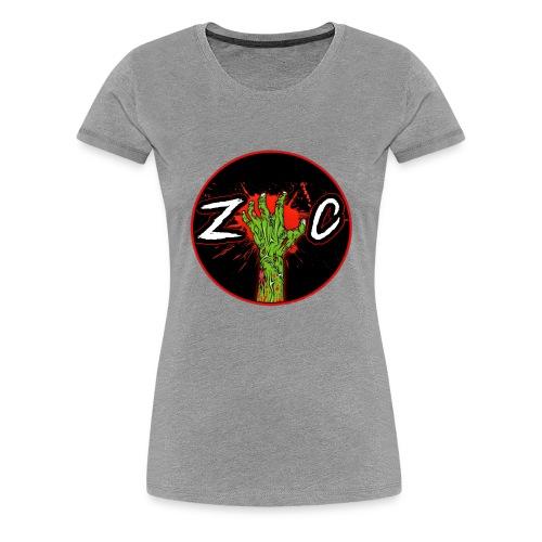 ZC Logo - Women's Premium T-Shirt