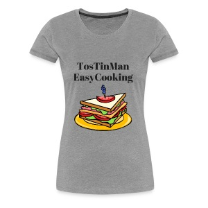 TosTinMan Sandwich - Women's Premium T-Shirt