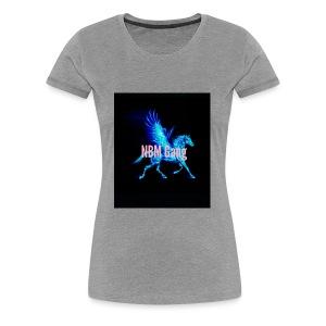 Blue Mustang iphone case (NBM Gang) - Women's Premium T-Shirt