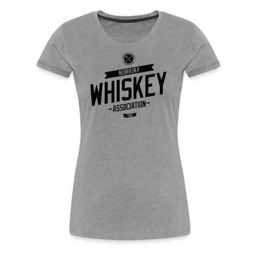 Tilted Whiskey distressed - Women's Premium T-Shirt