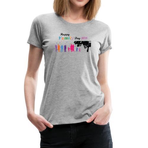 Family Day Parents' Day 2018 - Women's Premium T-Shirt