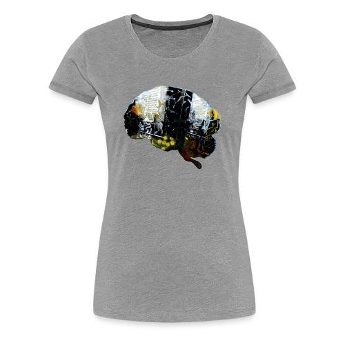 Stefan Lindblad Brain1 Copyright SpreadshirtSize 2 - Women's Premium T-Shirt