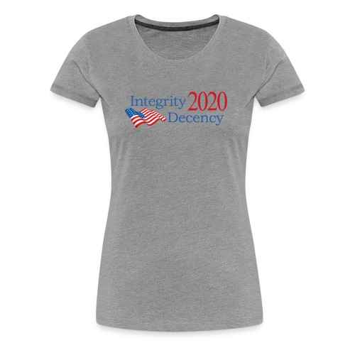 Vote for real American values! - Women's Premium T-Shirt