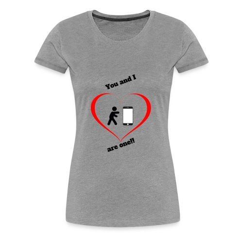 You and I - Women's Premium T-Shirt
