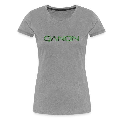 QANON Green - Women's Premium T-Shirt