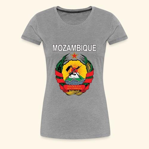 Mozambique coat of arms national design - Women's Premium T-Shirt