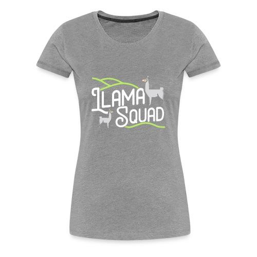 Cute Llama Shirt Llama Squad Tee - Women's Premium T-Shirt