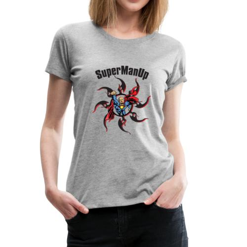 SuperManUP - Women's Premium T-Shirt