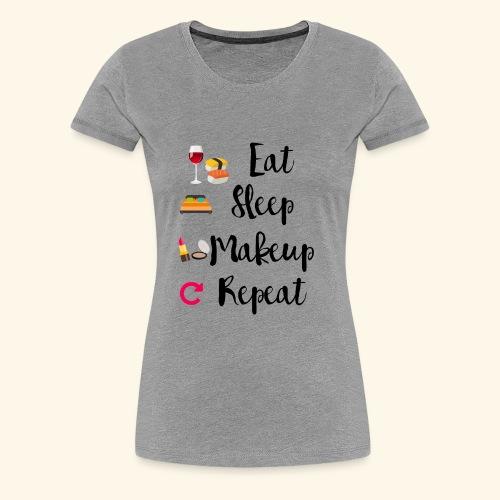 Makeup Cycle - Women's Premium T-Shirt