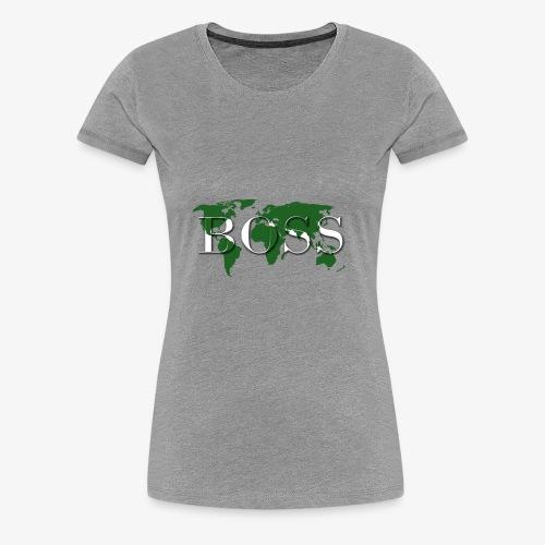 World Boss Premium Design - Women's Premium T-Shirt