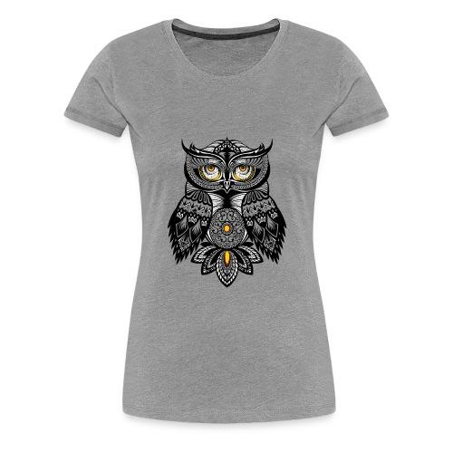 OWL Bohemian Design T-shirt BUHO FUNCLE - Women's Premium T-Shirt