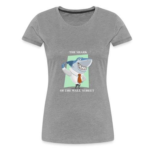 wall street shark - Women's Premium T-Shirt