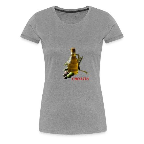 Croatian Gourmet 2 - Women's Premium T-Shirt