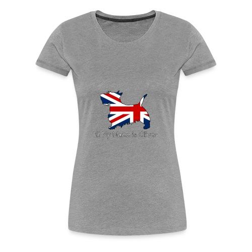 British Scottie - Women's Premium T-Shirt
