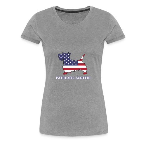 American Scottie - Women's Premium T-Shirt