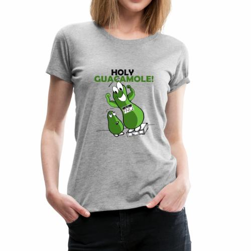 Holy Guacamole Giant Avocado T-shirt - Women's Premium T-Shirt