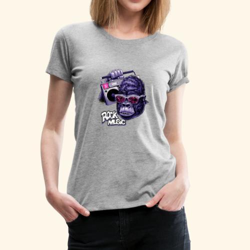 rock music - Women's Premium T-Shirt