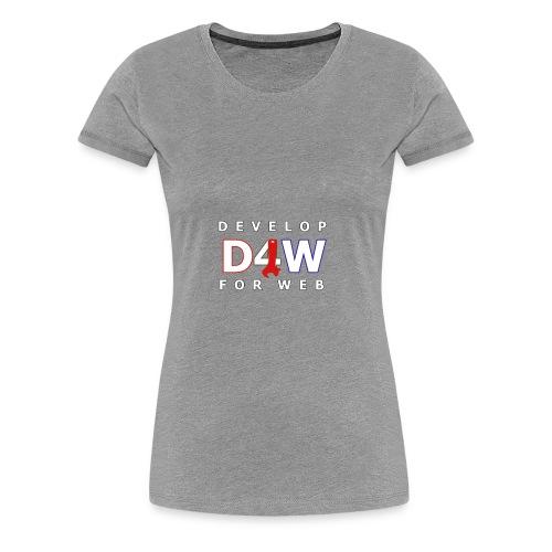 Develop For Web - Women's Premium T-Shirt