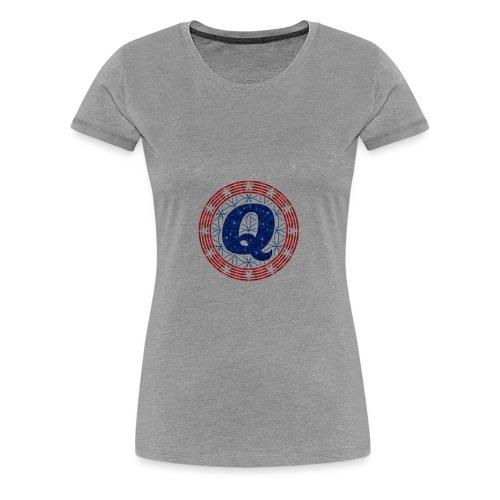 QAnon - Women's Premium T-Shirt