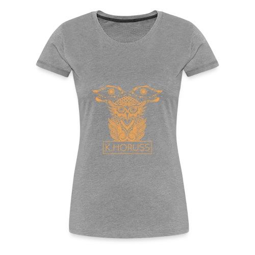 K.horuss Emblem - Women's Premium T-Shirt