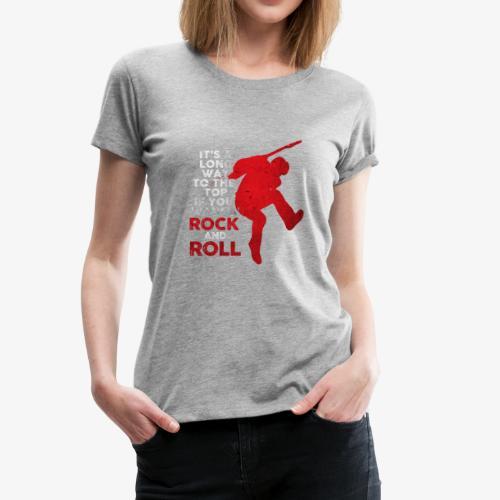 rock and roll - Women's Premium T-Shirt