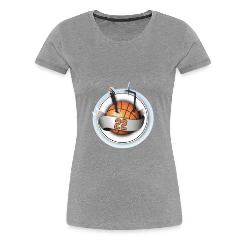 basket ball 22 - Women's Premium T-Shirt
