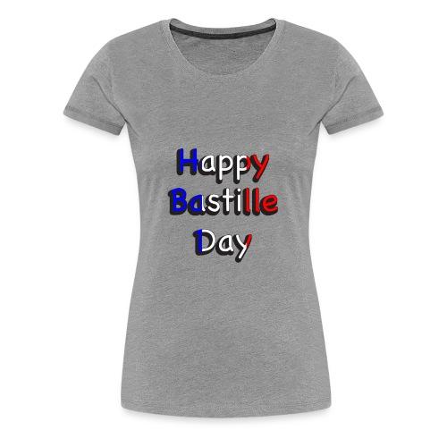 Happy Bastille Day - Women's Premium T-Shirt