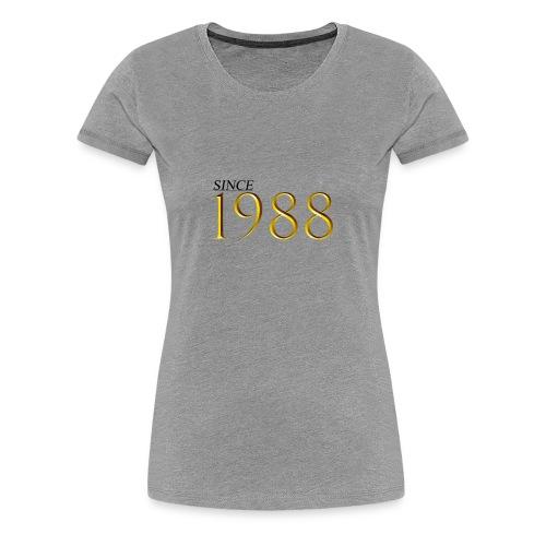 30th Birthday Gift 1988 T-Shirt For Men Women - Women's Premium T-Shirt