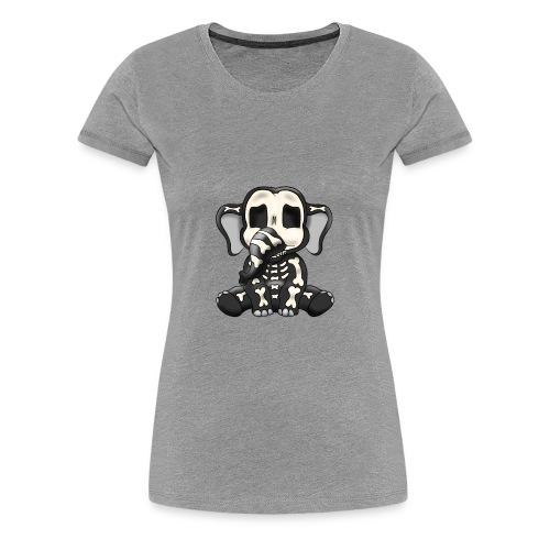 Elephant skeleton - Women's Premium T-Shirt