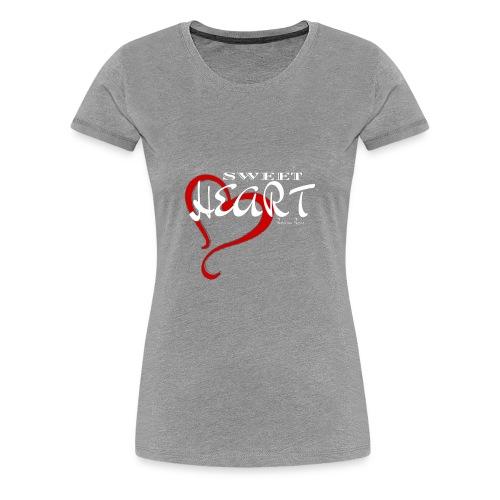 SWEETHEART RED - Women's Premium T-Shirt