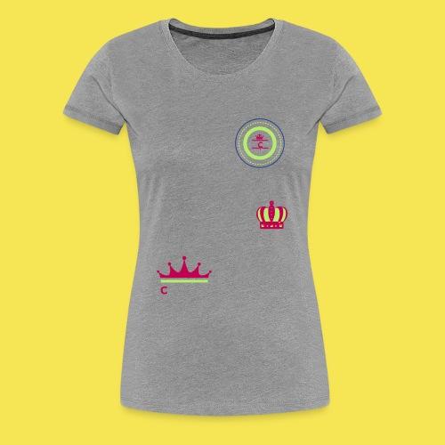 Cashmere C Crown - Women's Premium T-Shirt