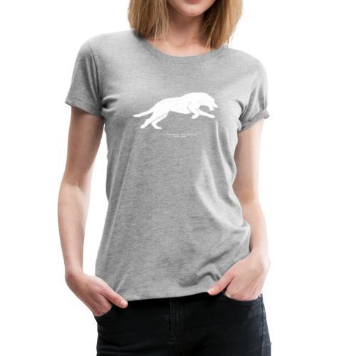 Running Wolfhound - Women's Premium T-Shirt