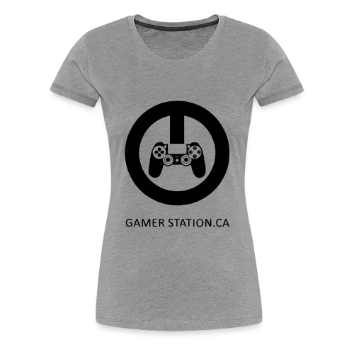 GamerStation.ca logo - Women's Premium T-Shirt