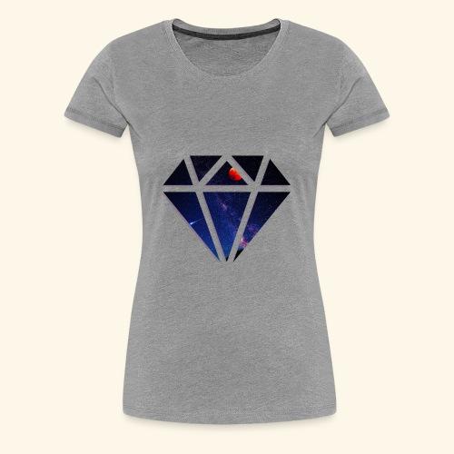 Space Diamond - Women's Premium T-Shirt