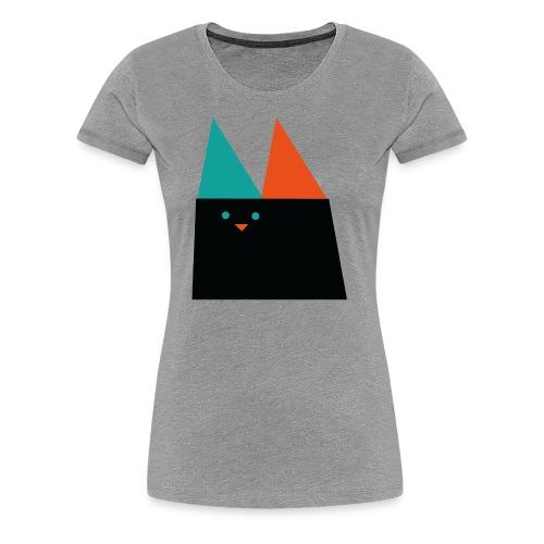 GEOMETRIC CAT - Women's Premium T-Shirt