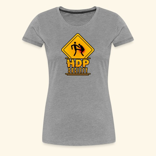 HDP Society Logo Full - Women's Premium T-Shirt