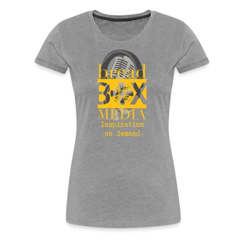 Breadbox Media - Inspiration on demand - Women's Premium T-Shirt
