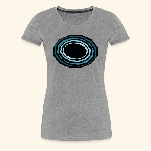 Cross Wheel - Women's Premium T-Shirt